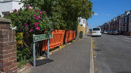 Walpole Road in Great Yarmouth. Picture: Danielle Booden