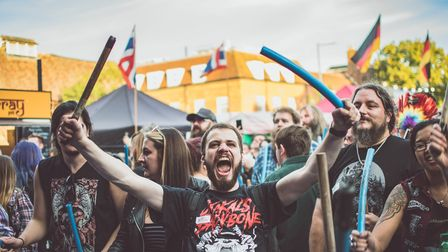 There was entertainment to suit all at Balstock 2019. Picture: Martin Wootton