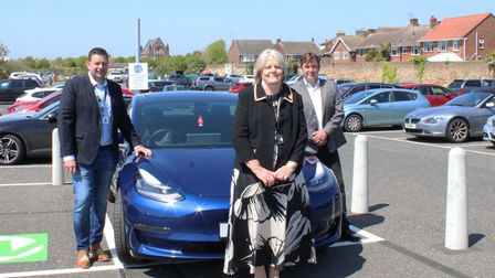 Electric car charging points Great Yarmouth