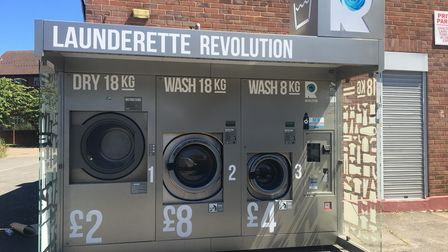 The Launderette Revolution appeared on Braemar Avenue in Neasdenwithout prior planning permission