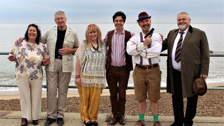 The cast of Black & White Productions' Children of the Revolution - the Story of Sealand