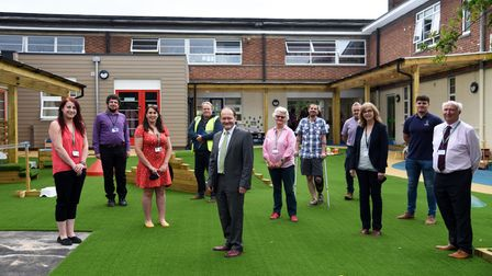The Beeches Community Primary School has received government cash for its new nursery