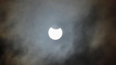 Toby Shepheard's picture of the partial solar eclipse.
