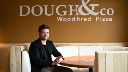 Chris Sharman, owner of Dough & co. Picture: Sarah Lucy Brown