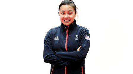 Tin-Tin Ho, during akitting out session for the 2019 Minsk European Games, is going tothe Tokyo Olympics