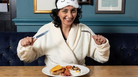 WPR/Hungry Horse - To promote the launch of its new breakfast menu, Hungry Horse has turned one of i