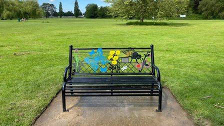 Memory Bench in St Neots