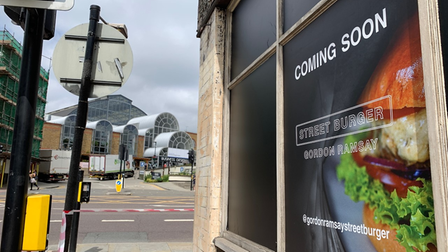 The burger chain has not given any more information, other than 'coming soon'