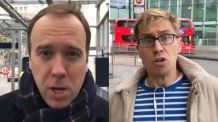 Russell Howard is the latest in a growing list of people to mock Matt Hancock's general election cam