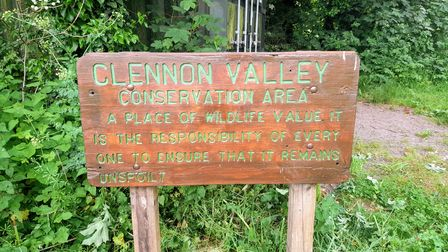 Welcome to Clennon Valley sign