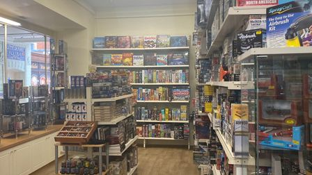 Langleys toy store Norwich