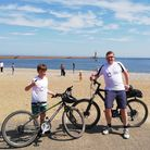 Ciaran Wilkes cycled 120 miles over four days, starting in the Lake District beforeending up inSunderland