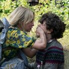 Evelyn (Emily Blunt) and Marcus (Noah Jupe) brave the unknown in A Quiet Place Part II.