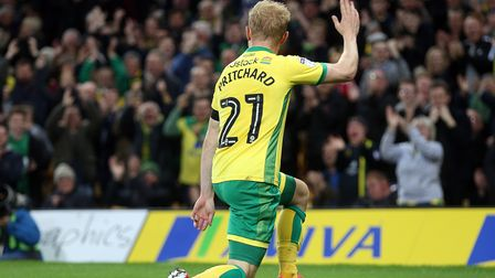 Alex Pritchard - the man who turned his back on Brighton to sign for Norwich Picture: Paul Chesterto