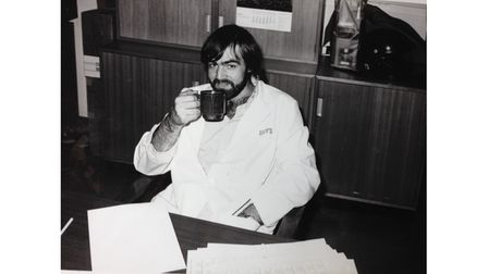 Old picture of doctor