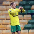 Emiliano Buendia of Norwich celebrates scoring his side's 1st goal during the Sky Bet Championship