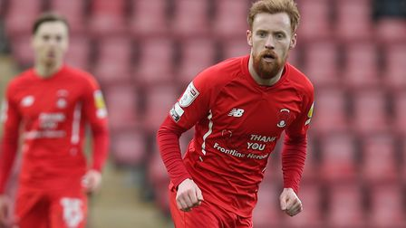 James Brophy of Leyton Orient during Leyton Orient vs Oldham Athletic, Sky Bet EFL League 2 Football