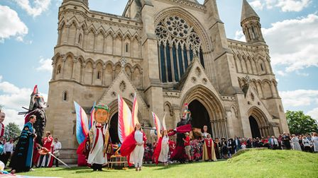 The Alban Pilgrimage at St Albans Cathedral in 2019.
