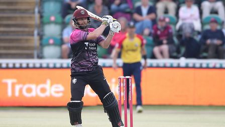 James Hildreth hits out for Somerset in the Vitality Blast T20