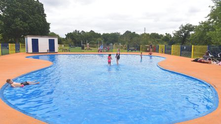 Ipswich Splash Parks reopen after lockdown restrcitions lifted. Bourne Park Pictures: BRITTANY WOODM