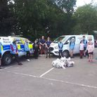 Sudbury Community Wardens organised a litter-pick as part of Suffolk's Clean Sweep
