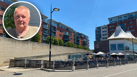 Three Waterfront blocks, at the Orwell Quay development near Aurora, have been found to have cladding issues