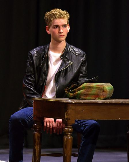 Arthur Roberts playsEdward Sergeant, Tom's teenage son, in Skylight at the Abbey Theatre in St Albans.