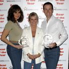 Rear of the Year event 2011 sponsored by Wizard Jeans. Winners Carol Vordeman and Anton Du Beke
