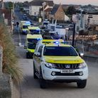 HM Bacton Coastguardrescue team covers Mundesley to Waxham and is located in Bacton.
