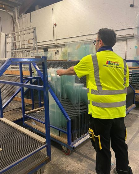 The company produces double-glazing units and has seen a boom in sales through the pandemic