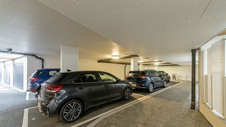 The property comes complete with two allocated parking spaces.