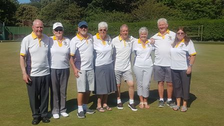 Clarence bowlers enjoyed a fine win in the Tony Allcock Trophy