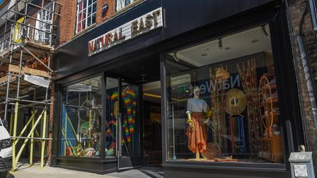 Natural East's new shop on Davey Place in Norwich. Picture: Danielle Booden