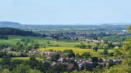 The view from Cleeve Toot.
