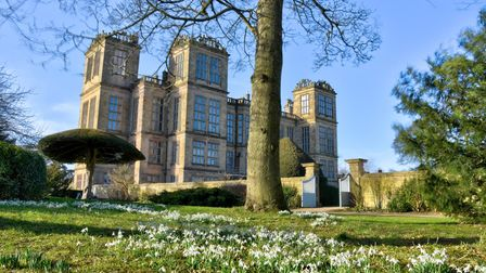 Hardwick Hall is a great place to combine history with wonderful walks