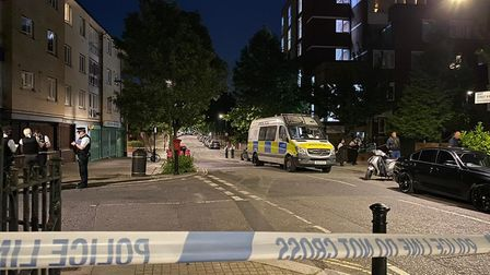 Two arrests following bloodshed in Queen's Park