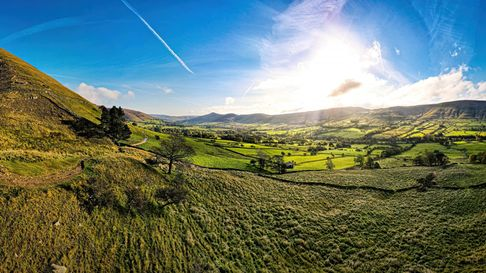 Over the Edale Valley