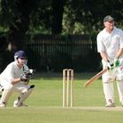Martin Riches impressed with the bat for Ilford Catholic seconds