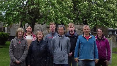 The St Andrew's church chiming team for the 2021 celebrations on June 26.