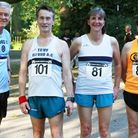 Ernie Forsyth, Tony Young, Alison Sale and Rob Sargeant at Battersea Park