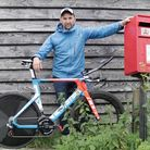 Man cycling more than 2000km for wife with breast cancer.
