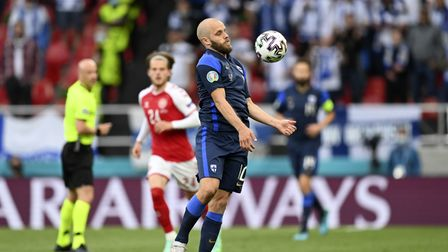 Pukki in action for Finland