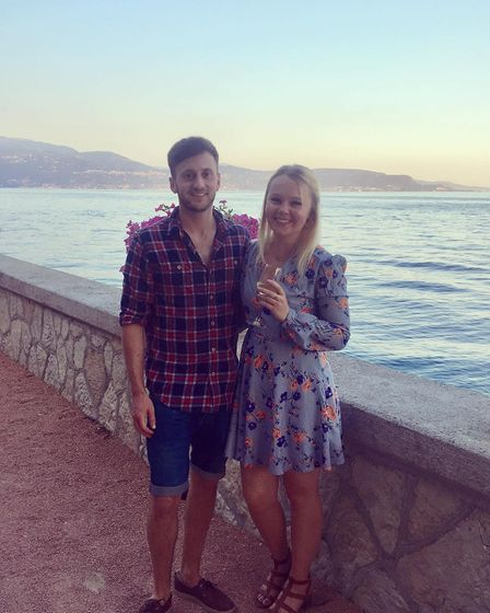 """Tom Marjoram, aged 27, was described by his fiancé Molly Patchett as """"kind-hearted and loving"""" following his tragic death."""