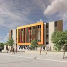 An artist's impression of the second school site.
