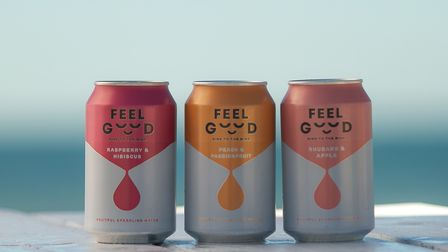 Feel Good sparkling drinks are a sound alcohol-free option.