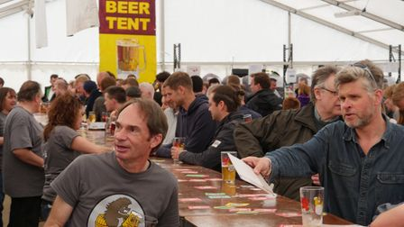 Hitchin Beer and Cider Festival 2019. Picture: Stuart Kirbyshire