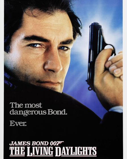 Promotional poster for The Living Daylights