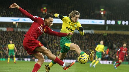 Liverpool beat City 1-0 at Carrow Road courtesy of a Sadio Mane goal. Picture: Paul Chesterton/Fo