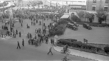 Images from the end of the Second World War will feature in Lowestoft 1945: The Year the Lights Came Back On.