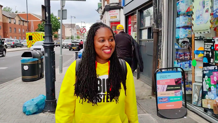 Dawn Butler MP walked past eight gambling establishments while on the Big Step Charity Walk